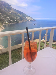 cocktails on the amalfi coast